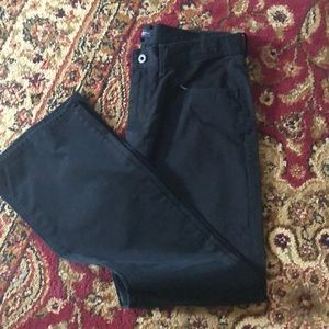 Black banana republic pants